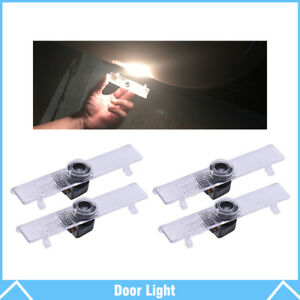 4pcs For Nissan Logo Led Car Door Courtesy Welcome Light Ghost Shadow Laser Lamp