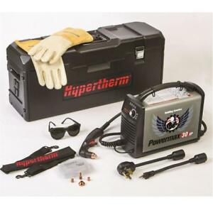Hypertherm Xp 30 Plasma Cutter With Consumables And Miller Air Filter And Manuel
