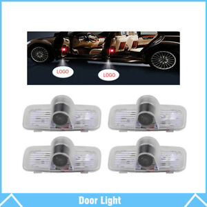 4pcs For Honda Logo Led Car Door Courtesy Welcome Light Ghost Shadow Laser Lamp