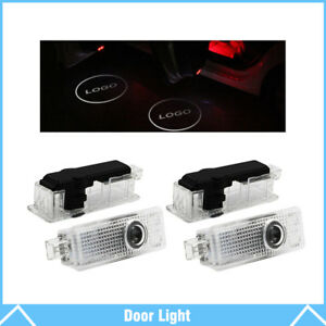 4 Led Car Door Welcome Laser Projector Logo Courtesy Ghost Shadow Light For Bmw