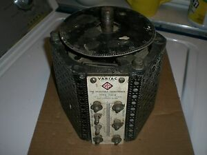 General Radio Co Variac Type 100 q 18 Amp