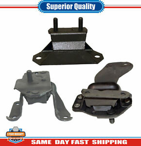 Engine Motor Trans Mount 2784 2997 2998 3pcs For Ford Mustang 3 8l Rwd 1995