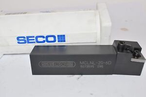 New Seco Mclnl 20 6d Indexable Tool Holder 1 1 4 Shank 6 Oal