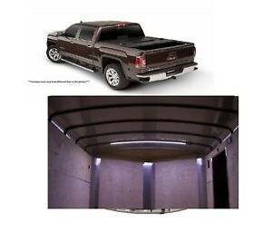 Undercover Flex 5 8 Bed Cover Access 60 Strip Bed Light For 07 Sierra 1500