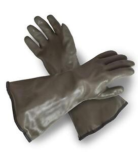 Extreme Cold Weather Pvc Coated With Thinsulate Lined Decoy Hunting Gloves 330