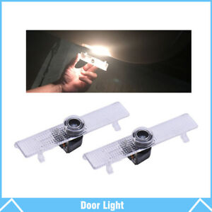 2pcs For Nissan Logo Led Car Door Courtesy Welcome Light Ghost Shadow Laser Lamp