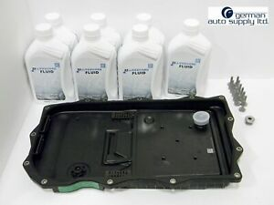 Bmw Transmission Oil Pan Filter And Lifeguard 8 Fluid 7 Liters Package Zf
