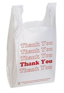 Thank You Shopping Bags Pk Of 1000 Free Shipping
