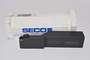New Seco Indexable Tool Holder Mrgor 85 4d 5033367 095 6 Oal 1 Shank