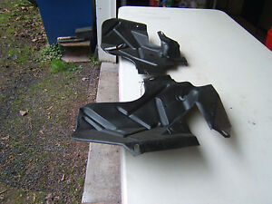 1955 1956 Ford Fairlane V8 Lower Motor Covers Used