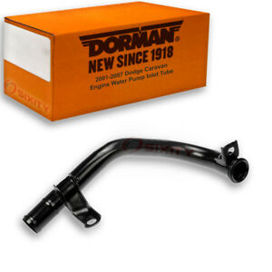 Dorman Water Pump Inlet Tube For Dodge Caravan 2001 2007 3 3l V6 Engine Wi