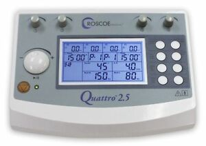 Quattro 2 5 Professional Electrotherapy Device Tens Ems Roscoe Dq8450