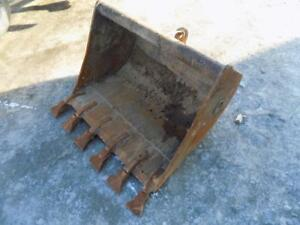 36 Excavator Bucket W Teeth Quick Coupler Came Off A Kubota U45 Excavator