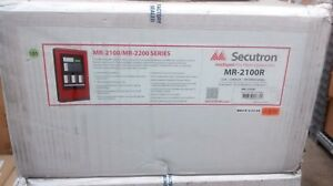Fire Alarm Panel Addressable Secutron Model mr 2100r