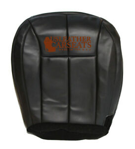 2002 Jeep Grand Cherokee Driver Side Bottom Vinyl Seat Cover Dark Gray