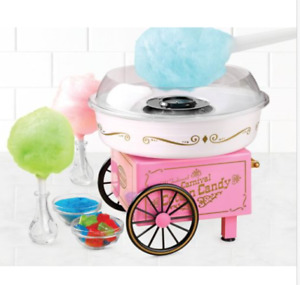 Cotton Candy Machine Maker Kit Sugar Free Home Tabletop Counter top Electric