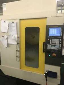 2012 Fanuc Robodrill D 21mia5 short Bed Ddr 4th Axis Mist Buster