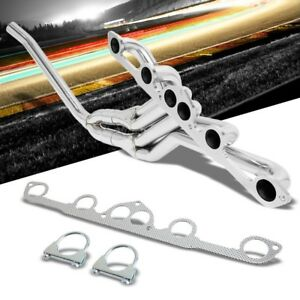 Stainless Steel Exhaust Header Manifold For Datsun 77 78 280z 79 83 280zx 2 8l