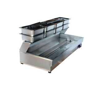 New Listing 110v 2000w 8 pan Bain marie Food Warmer Steam Table New Us Stock