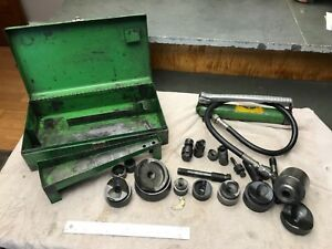 Greenlee hydraulic Knock Out 767a