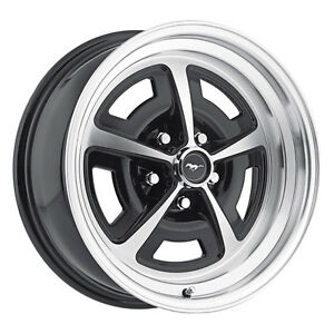 Legendary Wheel Co Lw50 70854a Mustang Magnum 500 Alloy Wheel 17 X8 Gloss Blac
