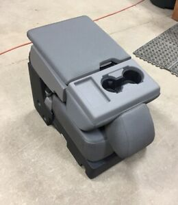 17 19 Ford F 250 f 350 f 450 Sd Oem Gray 40 20 40 Cloth Jump Seat Center Console