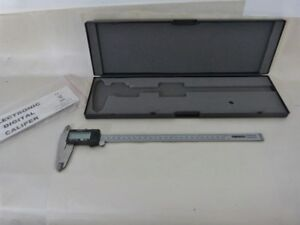 Ce Powerfist 12 300mm Electronic Lcd Digital Vernier Caliper Stainless Steel