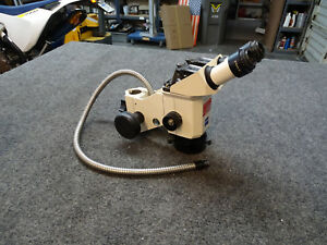 Zeiss Stemi Sv 6 Stereo Zoom Microscope W 10x 25 Eyepieces Light Ring Mount