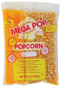 Gold Medal Mega Pop Popcorn Kit 8 Oz 24 Ct