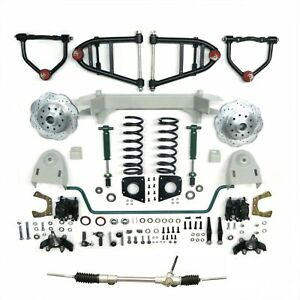 1949 50 51 52 53 54 Chevy Car Mustang Ii Ifs Front End Kit Suspension Manual