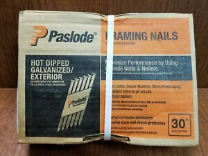 Paslode 2 3 8 X 113 Gavanized Ring Shank Framing Nails 2000 Count 650383