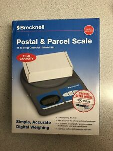 Brecknell Digital Bench Scale 11 Lb Capacity With 50 Worth Of Free Stamps