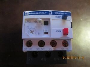 Telemecanique Lrd10 Overload Relay new In Box