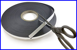 Self Adhesive Flexible Magnetic Tape 100 Length 1 Office Products
