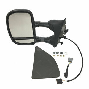 New Power Towing Side Mirror Lh Driver Side For Ford Excursion Super Duty Pickup