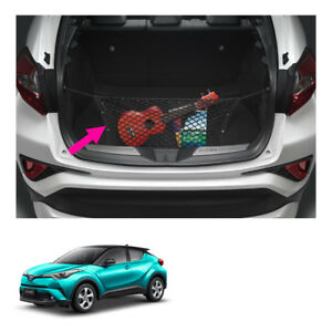 Rear Trunk Cargo Net Hang Black Genuine For Toyota C hr Suv 2018 2019