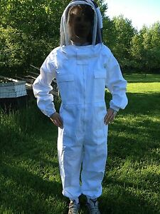 Full Bee Keeping Suit Heavy Duty New Size Xxxl 3xl Free Gloves Free Shipping