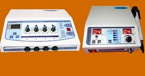 Electrotherapy Ultrasound Therapy Unit Physical Pain Relief Therapeutic Machine
