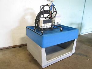 Hd Commercial Poly Equipment Washing Table ecolab Chemical Dispenser W gun