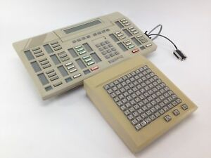 Northern Telecom Meridian 20 Button Attendant Console Nt6g00af35 Ba55713 Read