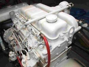 Perkins 4 236t Bal Diesel Engine used All Complete And Run Tested reman