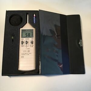 Extech Instruments 407736 Sound Level Meter with Case