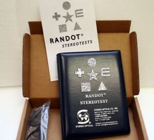 Randot Stereo Tests New Optometrists Test Optometry Ophthalmology