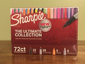 Sharpie 72 piece Ultimate Pack Fine ultra Fine Point Assorted Colors