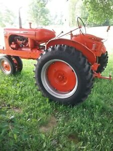 Wc Allis Chalmer Tractor With New Tires Rims