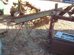 Hay Rake 3 Point Hitch Manufactured By Fordmac Usa Large 9 Ft