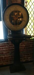 Reclaimed Vintage Industrial Toledo Scale Head For Restoration Decor Steampunk