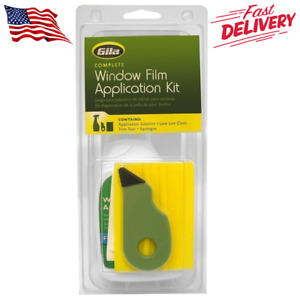 Window Film Complete Installation Kit Utility Knife Flexible Card Solution