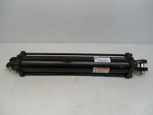 Prince 4 x24 Tie rod Hydraulic Cylinder 1 3 4 Shaft 3000 Psi