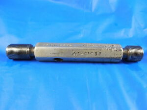 5 8 24 Nef 2b Thread Plug Gage 625 Go No Go Pd 5979 6012 Free Shipping